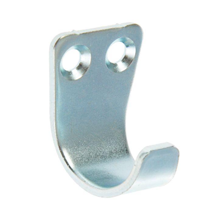 Крючок-вешалка №1, покрытие цинк