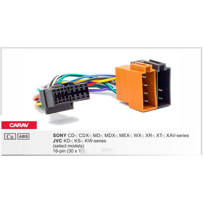 Разъём CARAV 15-109 Sony, JVC