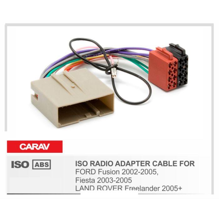 Евро разъём CARAV 12-035 (ISO адаптер FORD Fusion 2002-2005, Fiesta 2003-2005)