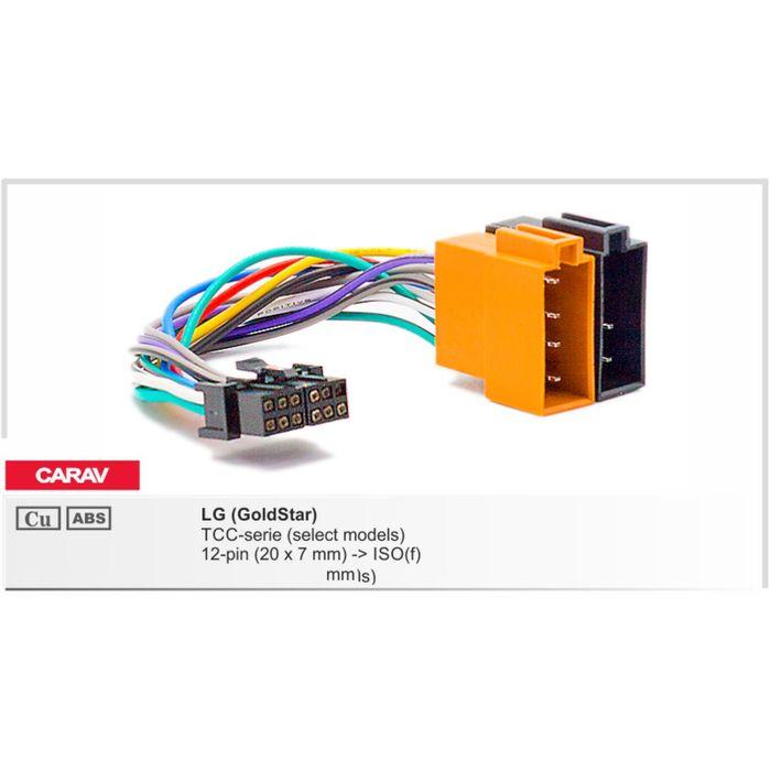 Разъём CARAV 15-104 LG