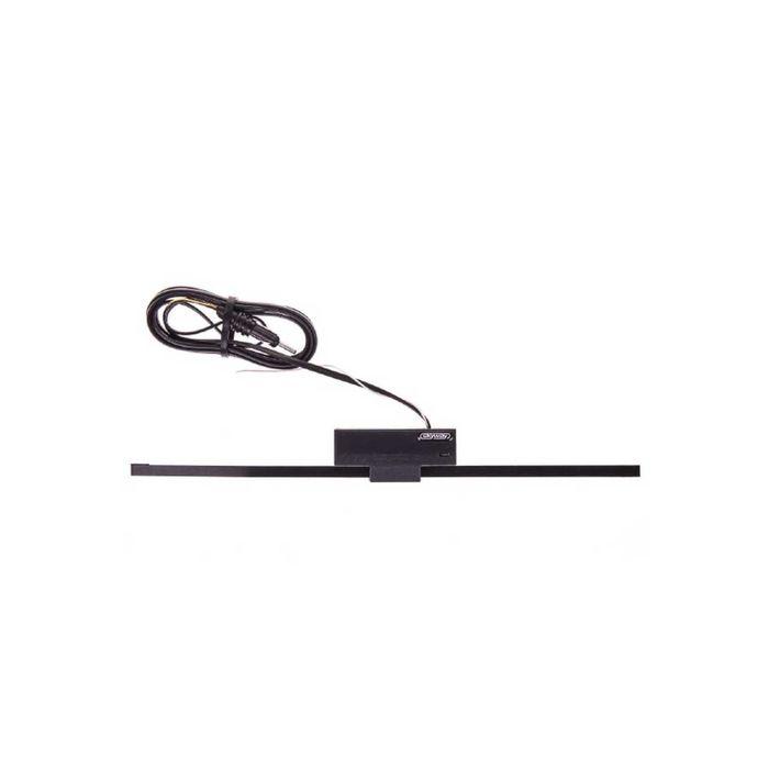 Антенна автомобильная FM активная внутрисалонная SKYWAY GAMMA прямоугольная кабель 2 м, черный