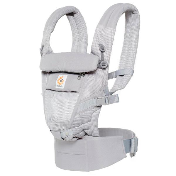 Рюкзак-кенгуру Ergobaby Adapt Cool Air Mesh Pearl Grey
