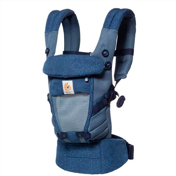 Рюкзак-кенгуру Ergobaby Adapt Cool Air Mesh Blue Blooms