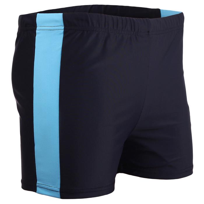 Плавки-шорты взрослые для плавания, размер 56, цвет синий