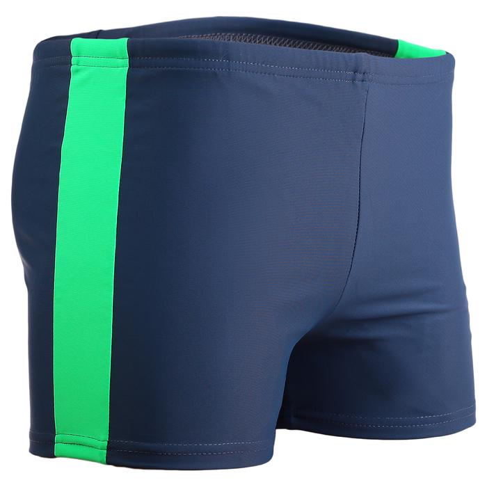 Плавки-шорты взрослые для плавания, размер 58, цвет синий