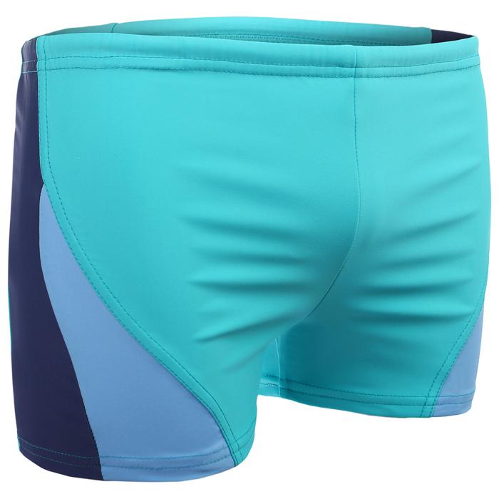 Плавки-шорты взрослые для плавания, размер 54, цвет чёрный/синий
