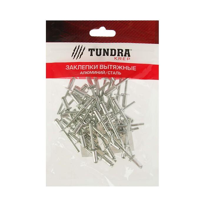 Заклёпки вытяжные TUNDRA krep, алюминий-сталь, 50 шт, 4.8 х 10 мм