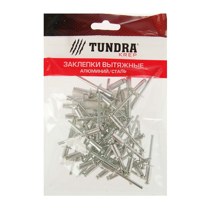 Заклёпки вытяжные TUNDRA krep, алюминий-сталь, 50 шт, 4.8 х 12 мм