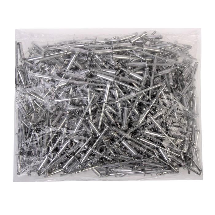 Заклёпки вытяжные TUNDRA krep, алюминий-сталь, 4 х 16 мм, в пакете 500 шт.