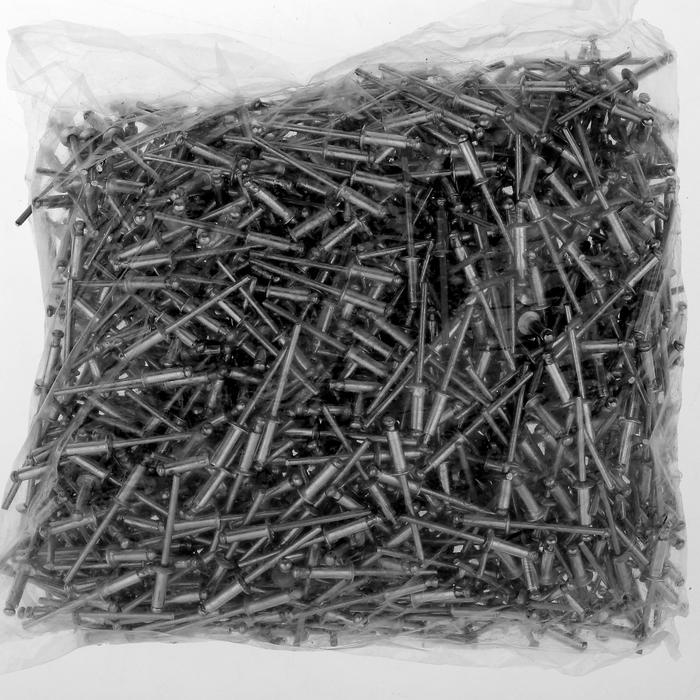 Заклёпки вытяжные TUNDRA krep, алюминий-сталь, 3.2 х 8 мм, в пакете 1000 шт.