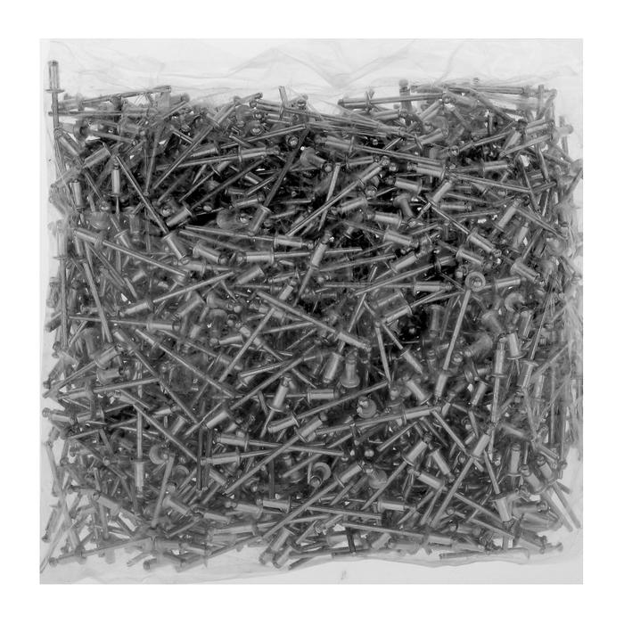Заклёпки вытяжные TUNDRA krep, алюминий-сталь, 3.2 х 6 мм, в пакете 1000 шт.
