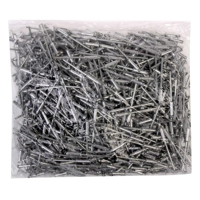 Заклёпки вытяжные TUNDRA krep, алюминий-сталь, 3.2 х 12 мм, в пакете 1000 шт.