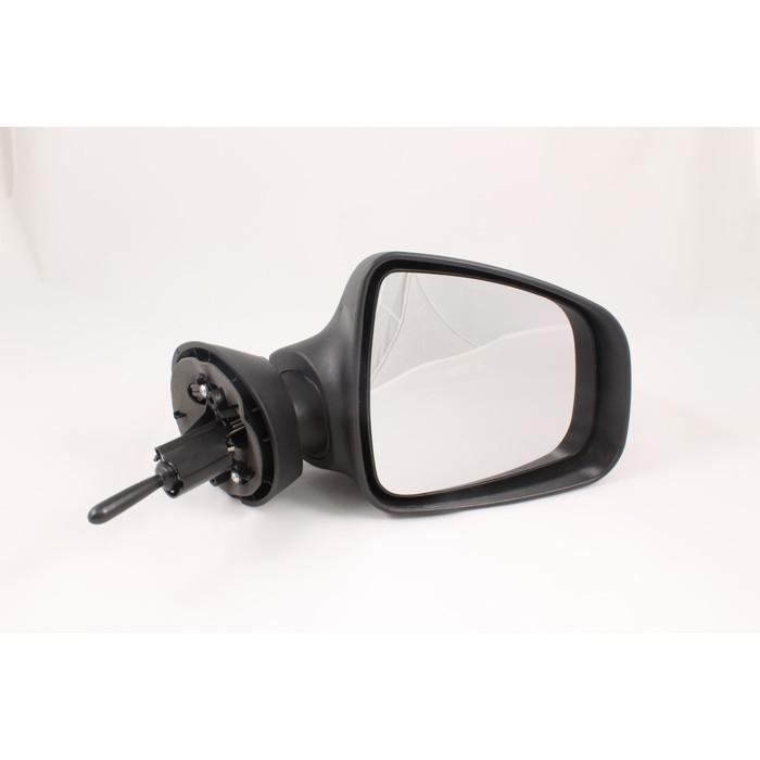 Зеркало боковое 3285 на Renault Logan, Duster, Lada Largus, черное, 2 шт.
