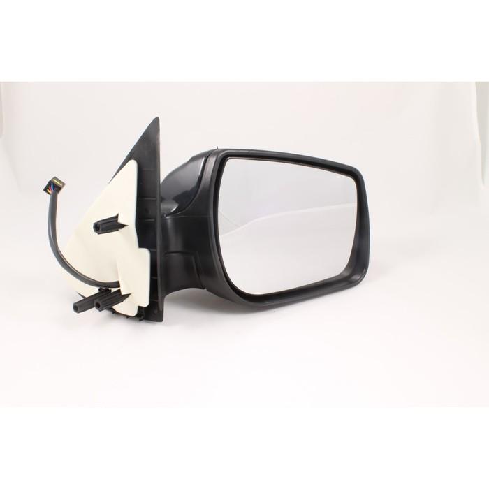 Зеркало боковое 3292 на LADA KALINA, подогрев, черное, 2 шт.