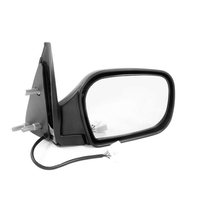 Зеркало боковое CHEVROLET NIVA, подогрев, черное, 2 шт.