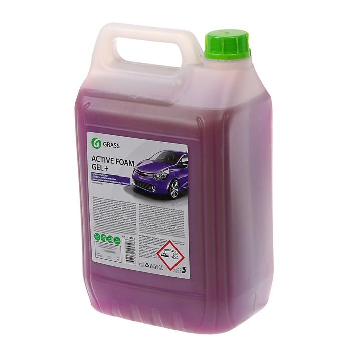 Шампунь для бесконтактной мойки Grass Active Foam Gel Plus, 6 кг (1:80-1:250)