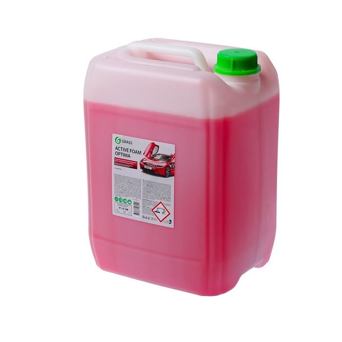 Шампунь для бесконтактной мойки Grass, 20 кг, Active Foam Optima (1:40-1:60)