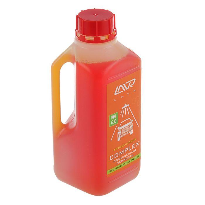 Автошампунь LAVR Complex бесконтакт, повышенная пенность 1:70, 1 л, бутылка