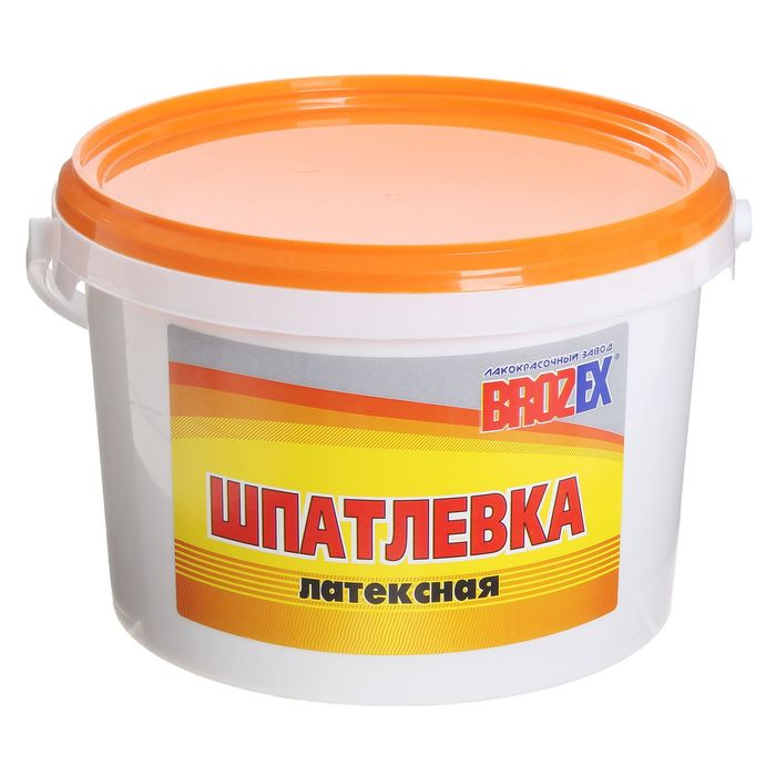 Шпатлёвка латексная Brozex, 5 кг