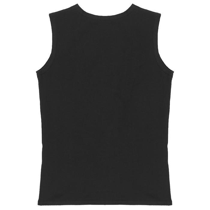 Майка спортивная, размер 34, цвет чёрный