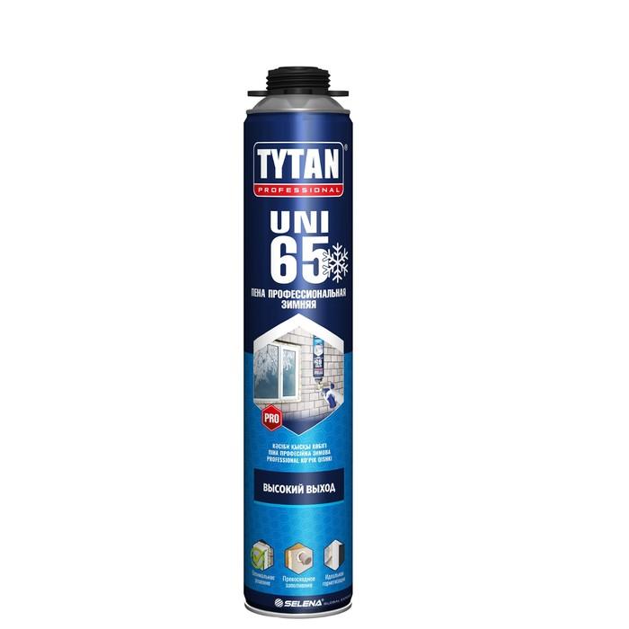 Пена монтажная ПРОФ Tytan 65 UNI, зимняя, 750 мл