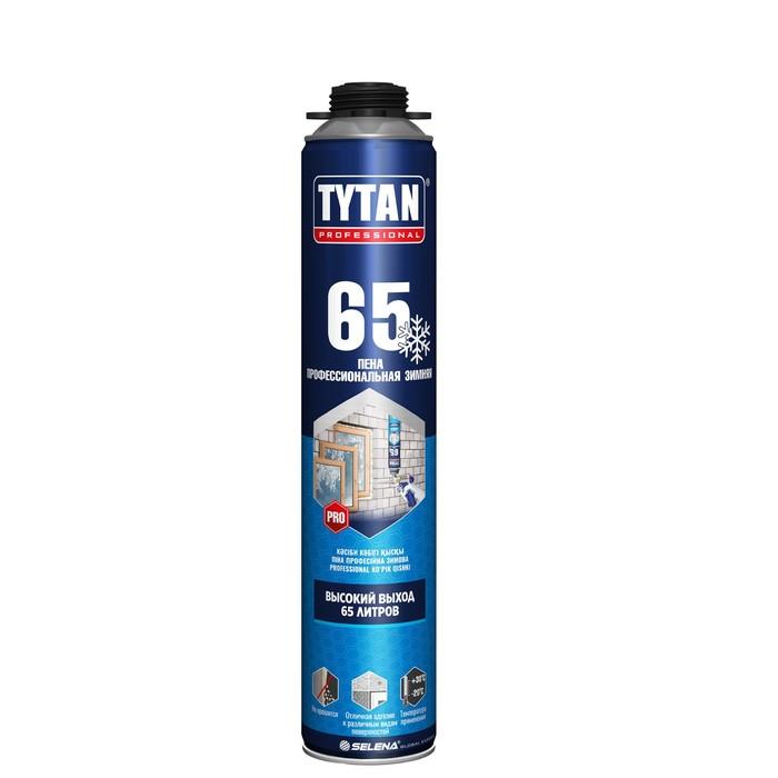 Пена монтажная ПРОФ Tytan 65, зимняя, 750 мл