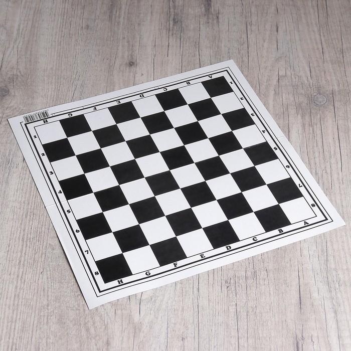 "Шахматное поле ""Классика"", картон, 32 × 32 см"