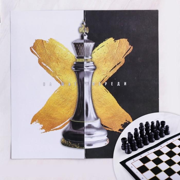 Набор шахмат «На шаг впереди», р-р поля 15 × 15 см