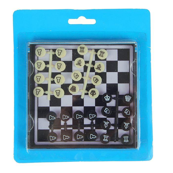 """Игра настольная """"Шахматы"""", магнитные в коробке 11х11"""