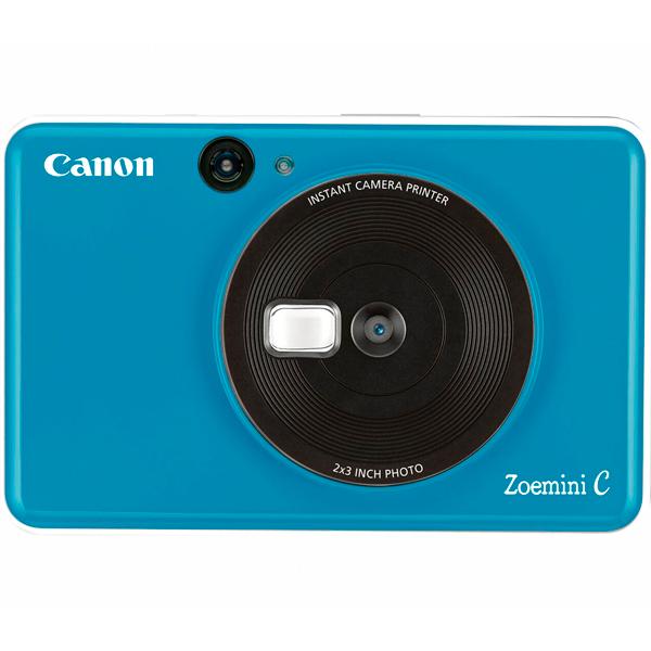 Фотокамера моментальной печати Canon Zoemini C Seaside Blue