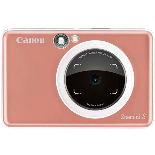 Фотокамера моментальной печати Canon Zoemini S Rose Gold