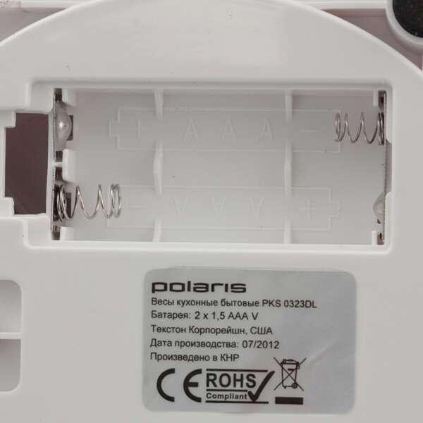 Весы кухонные Polaris PKS 0323DL