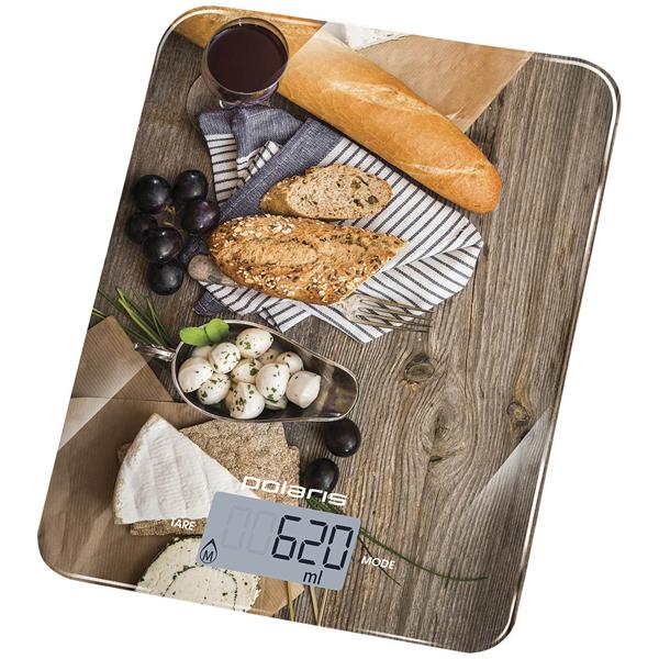 Весы кухонные Polaris PKS 1044DG Baguette