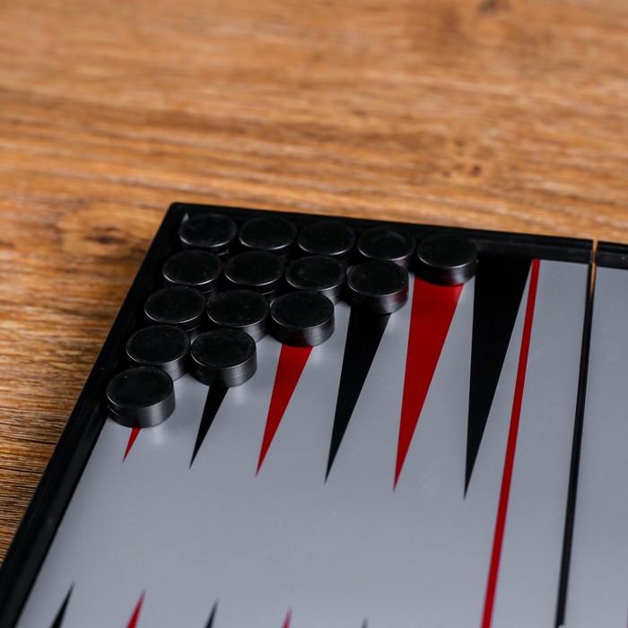 Нарды магнитные, поле 20 × 20 см, в коробке