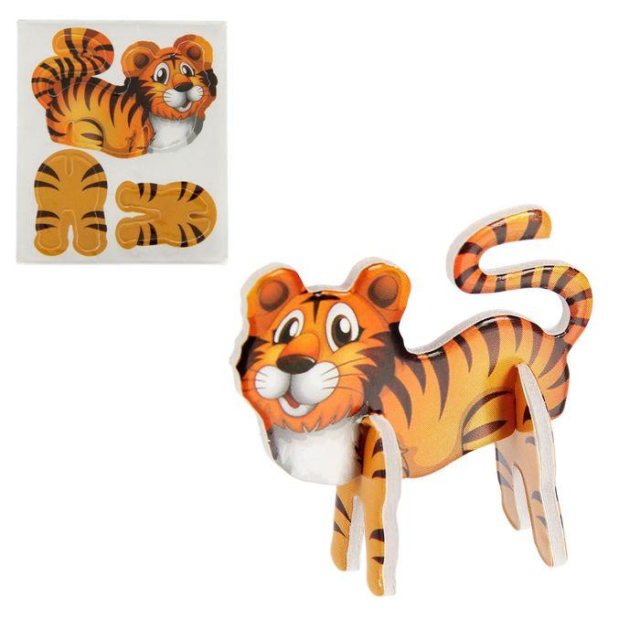 Конструктор 3D «Животные», МИКС