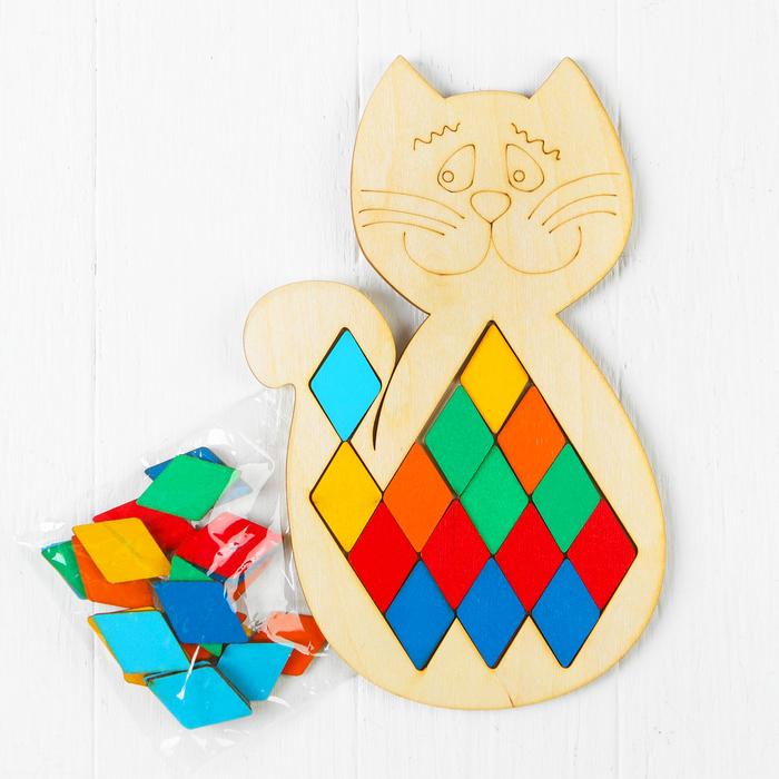 Мозаика «Кот»