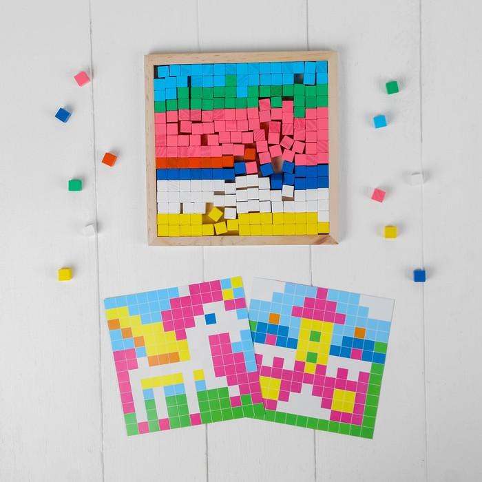 """Мозаика. Цветные кубики """"Мир девчонок"""""""