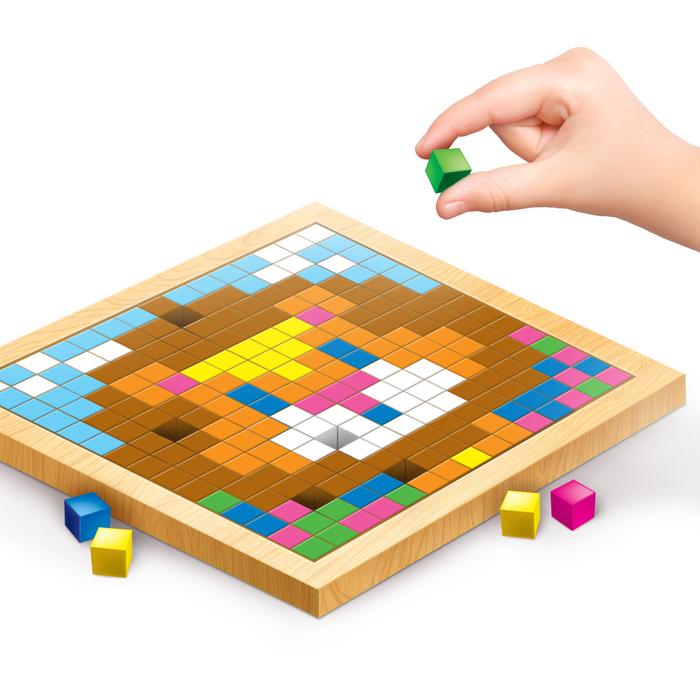 """Мозаика. Цветные кубики """"Животные Африки"""""""