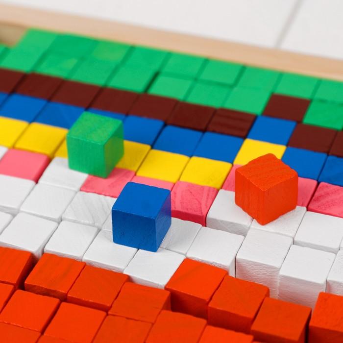 """Мозаика. Цветные кубики """"Лесные животные"""""""