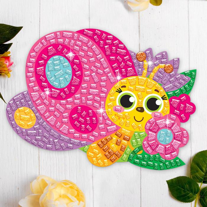 Мозаика стикерная форменная «Милая бабочка». Набор для творчества