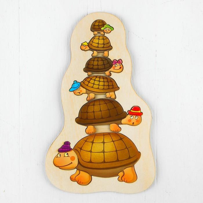 Рамка-вкладыш «Черепашки в шапочках»