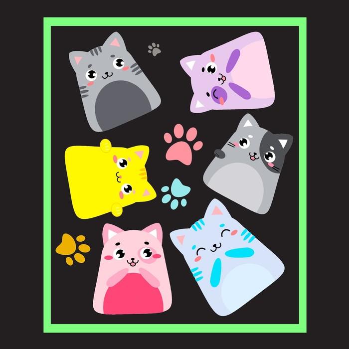Набор для рисования светом «Котейки»