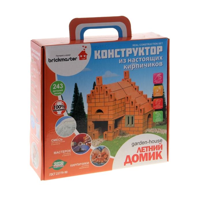 Конструктор керамический «Летний домик», 243 детали