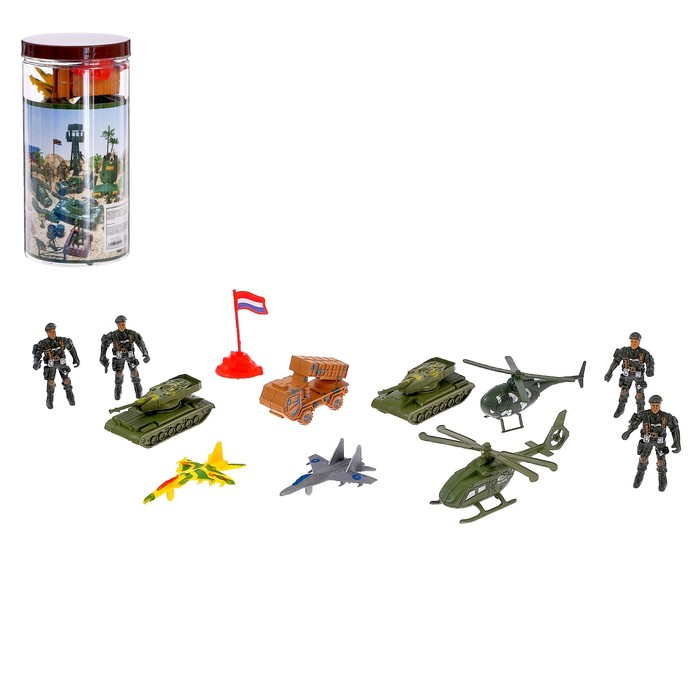 Набор солдатиков «Дивизия», 12 предметов