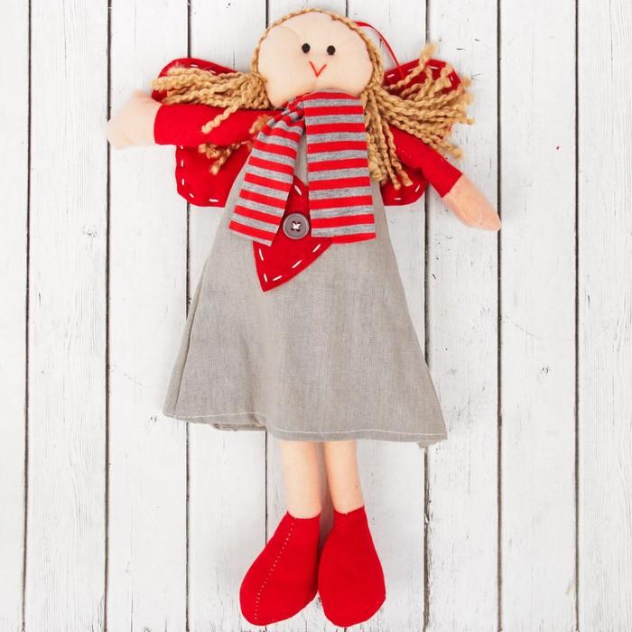 Кукла интерьерная «Ангелочек», с сердцем на платье, цвета МИКС