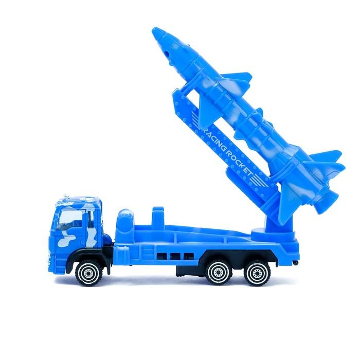 Машина инерционная «Тягач с ракетой»