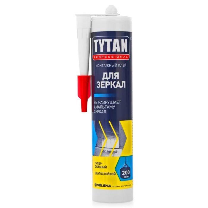 """Клей """"Tytan Professional"""", монтажный, для зеркал, бежевый, 310 мл"""