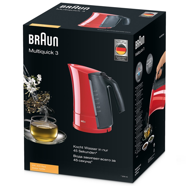 Чайник Braun WK 300 (red)