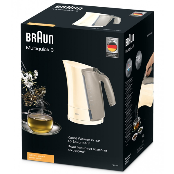 Чайник Braun WK 300 (cream)