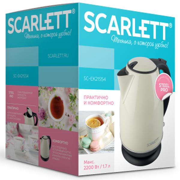 Электрический чайник Scarlett SC-EK21S54